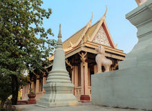 Wat Phnom, Phnom Penh. Cambodia Royalty Free Stock Image