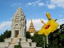 Wat Phnom in Phnom Penh, Cambodia Stock Photo