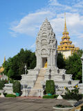 Wat Phnom in Phnom Penh, Cambodia Stock Photo