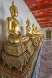 Wat Pho寺庙的,曼谷,泰国菩萨的 免版税库存图片
