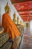Wat Pho寺庙的,曼谷,泰国菩萨的 库存图片