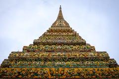 Wat Pho是佛教寺庙 免版税库存照片
