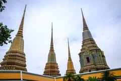 Wat Pho是佛教寺庙 库存照片
