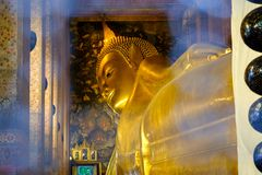 Wat Pho是佛教寺庙 免版税图库摄影