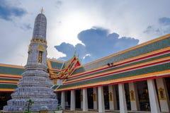 Wat Pho是佛教寺庙 免版税库存图片