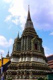 Wat pho曼谷泰国 免版税库存照片
