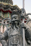 Wat Pho曼谷雕象 库存照片