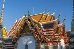 Wat Pho à Bangkok, Thaïlande Photographie stock libre de droits