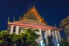 Wat Pho à Bangkok, Thaïlande Image libre de droits