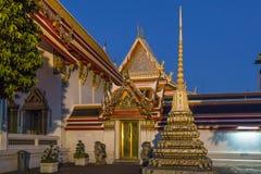 Wat Pho à Bangkok, Thaïlande Images libres de droits