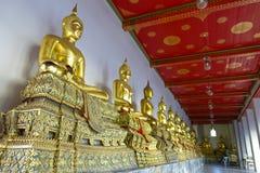 Wat Pho à Bangkok, Thaïlande Photos stock