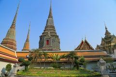 Wat Pho (ο ναός του ξαπλώνοντας Βούδα) Στοκ φωτογραφία με δικαίωμα ελεύθερης χρήσης