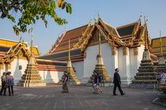Wat Pho στη Μπανγκόκ Στοκ φωτογραφία με δικαίωμα ελεύθερης χρήσης