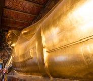 wat pho Будды возлежа Стоковые Изображения