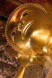wat pho Будды возлежа Стоковые Изображения RF