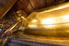 wat pho Будды возлежа Стоковые Фото