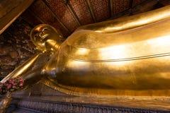 wat pho Будды возлежа Стоковая Фотография RF
