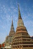 Wat Pho комплекс буддийского виска в Бангкоке, Таиланде Стоковое Изображение RF