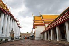 wat pho молельни bangkok Стоковое фото RF