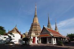Wat Pho. Temple in Bangkok, Thailand Stock Image
