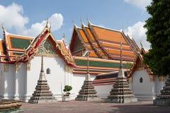Wat Pho in Bangkok Stock Photography
