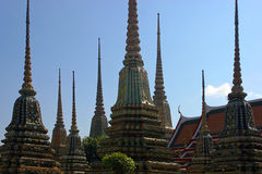 Wat Pho Bangkok Royalty Free Stock Images