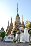Wat Pho Bangkok arkivbilder