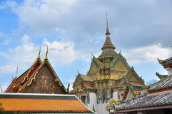 Wat Pho Bangkok Imagenes de archivo