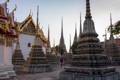 Wat Pho in Bangkok Lizenzfreies Stockfoto