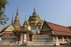 Wat Pho in Bangkok stockfotografie