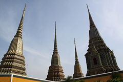 Wat Pho, Bangkok Fotografia Stock