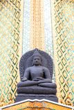 Detail in Wat Pho temple in Bangkok. Wat Pho in Bangkok with the giant reclining Buddha statue. Peaceful temple right to grand palace stock photography