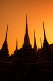 Wat Pho at Bangkok Stock Photography