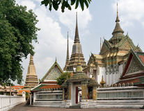 Wat Pho. Bangkok, Tailandia Foto de archivo