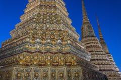 Wat Pho in Bangkok, Thailand Stock Foto's