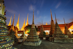Wat Pho in Bangkok, Thailand Lizenzfreie Stockfotos