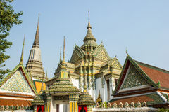 Wat Pho in Bangkok Thailand Stockfotos