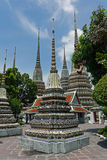 Wat Pho, Bangkok thailand Arkivfoton