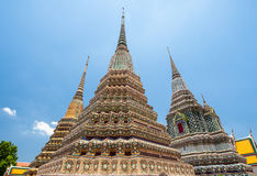Wat Pho, Bangkok, Thailand. Also known as Wat Phra Chetuphon Royalty Free Stock Photos