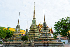 Wat Pho at Bangkok of Thailand. Stock Photography