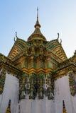 Wat pho Bangkok Thailand Royalty Free Stock Images