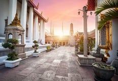 Wat pho in Bangkok, Thailand Stock Image