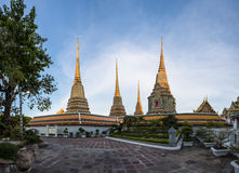 Wat Pho. BANGKOK, THAILAND - DECEMBER 10, 2014: Wat Pho known also as the Temple of the Reclining Buddha is a royal temple of the first grade, one of ten such Stock Photo