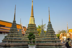 Wat Pho at Bangkok Stock Images