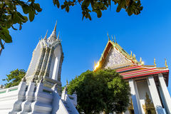 Wat pho is the beautiful temple in Bangkok, Thailand. Royalty Free Stock Photography