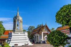 Wat pho is the beautiful temple in Bangkok, Thailand. Stock Photography