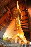 Wat Pho Buddha adagiantesi Fotografia Stock Libera da Diritti