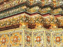Wat Pho & x28; Buddha& de reclinação x29; em Banguecoque, Tailândia imagens de stock