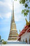 Wat Pho Buddhist Temple in Bangkok, Thailand. The beautiful architecture of Wat Pho Buddhist Temple in Bangkok, Thailand stock images