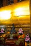 Wat Pho Buddhist Temple in Bangkok, Thailand. The beautiful architecture of Wat Pho Buddhist Temple in Bangkok, Thailand stock photo